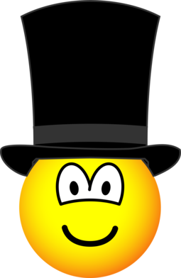 Gentleman emoticon