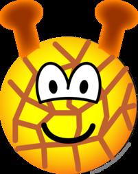 Giraffe emoticon