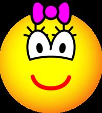 Girl emoticon