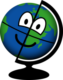 Globe emoticon