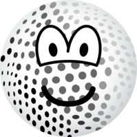 Golfball emoticon