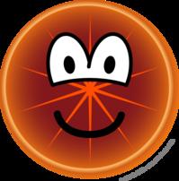 Grapefruit emoticon