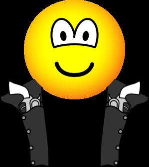 Gunslinger emoticon