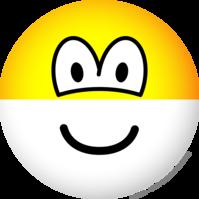 Half full emoticon