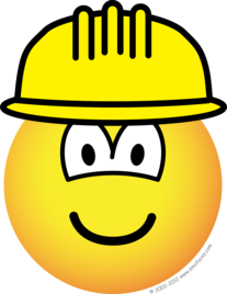 Hardhat emoticon