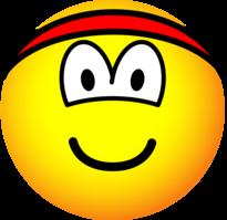 Headband emoticon