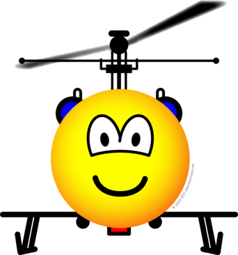 Helicopter emoticon