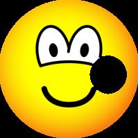 Hole emoticon