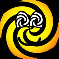 Hypnotic emoticon
