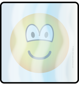 Ice cube or cooled emoticon