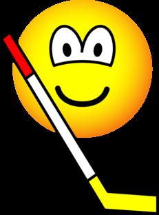 Ice hockey emoticon