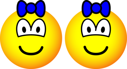 Identical twin emoticon