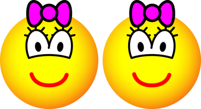 Identical twins emoticon