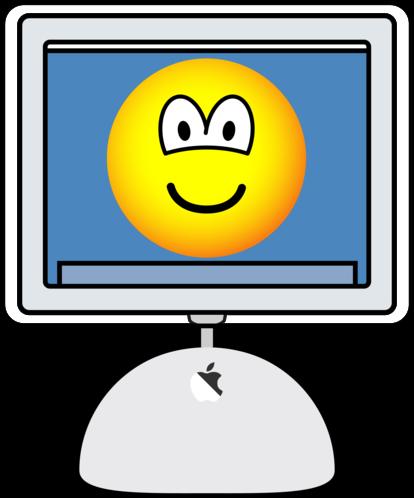 iMac emoticon