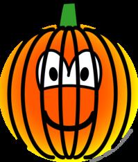 Jack-o-lantern emoticon