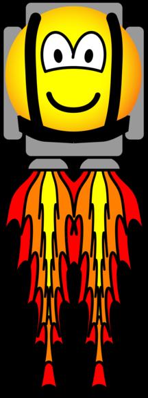Jetpack emoticon