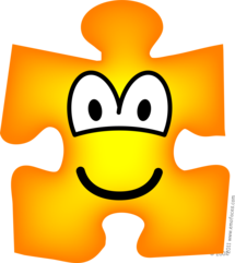 Jigsaw piece emoticon