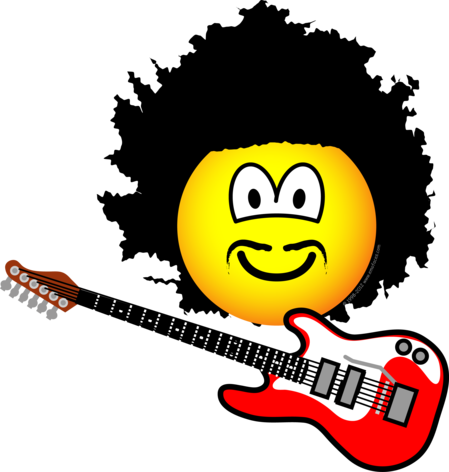 Jimi hendrix emoticon