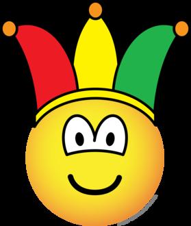 Joker/Carnival emoticon