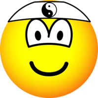 Karate emoticon