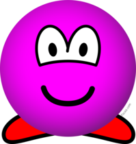 Kirby emoticon