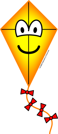 Kite emoticon