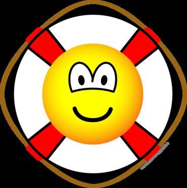 Lifesaver emoticon
