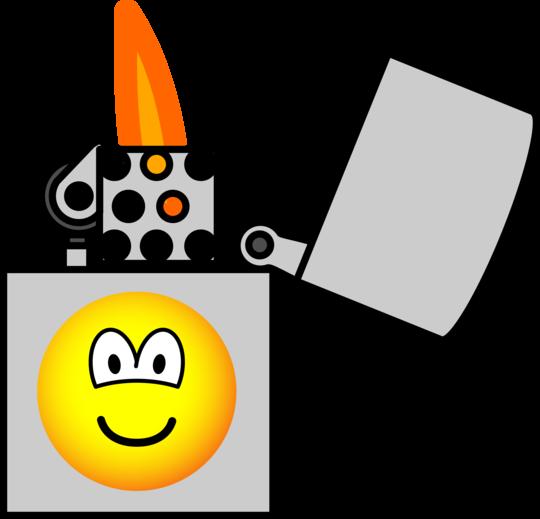 Lighter emoticon