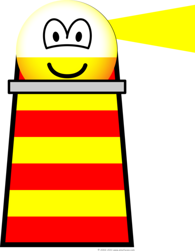 Lighthouse emoticon