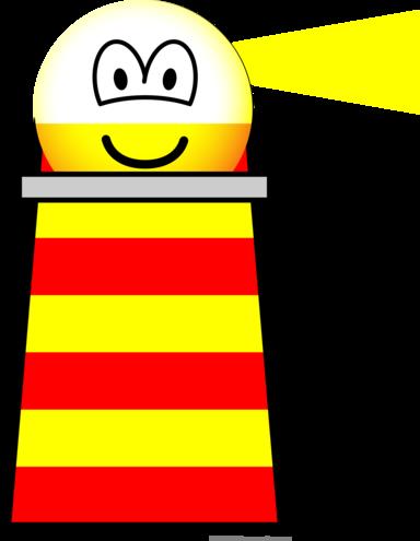Lighthouse emoticon