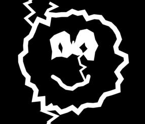 Lightning emoticon