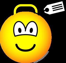Luggage emoticon