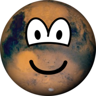 Mars emoticon