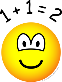 Mathmatics emoticon