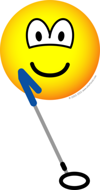 Metaldetector emoticon