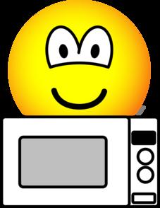 Microwaving emoticon