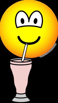 Milkshake emoticon
