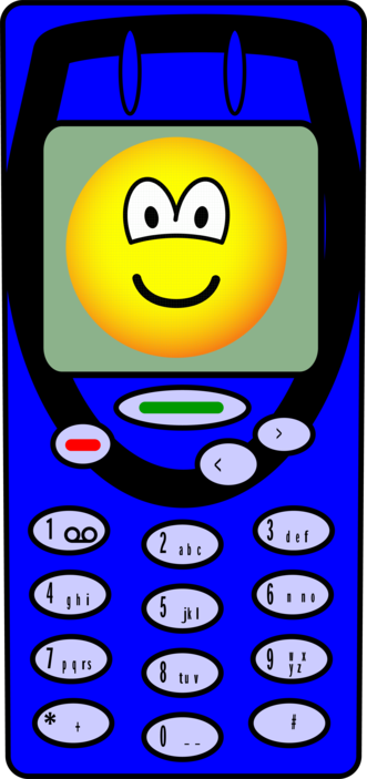 Mobile phone emoticon