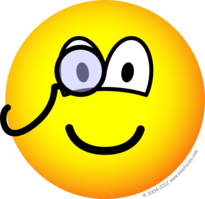 Monocle emoticon