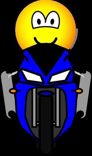 Motorcycle emoticon