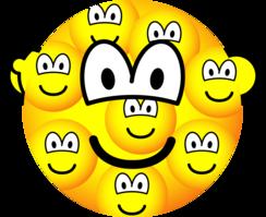 Multiple personality emoticon