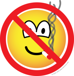 No smoking emoticon