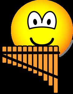 Panflute emoticon