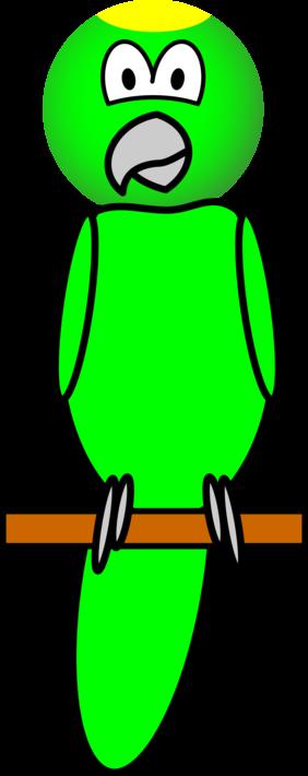 Parrot emoticon
