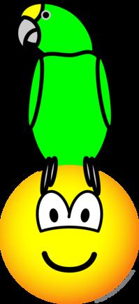 Parrothead emoticon