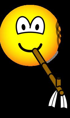 Peacepipe emoticon