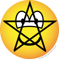 Pentacle emoticon