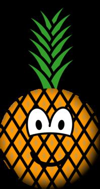 Pineapple emoticon