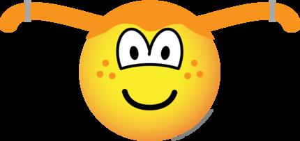 Pippi Longstocking emoticon