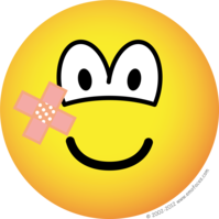 Plaster emoticon